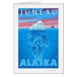 Sección representativa del iceberg - Juneau, Alask Felicitacion