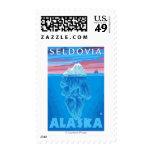 Sección representativa del iceberg - Seldovia, Sello