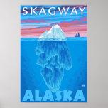 Sección representativa del iceberg - Skagway, Alas Impresiones