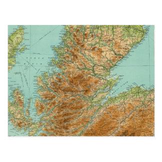 Sección septentrional de Escocia Postales