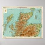 Sección septentrional de Escocia Posters