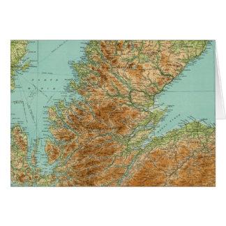 Sección septentrional de Escocia Tarjeta De Felicitación