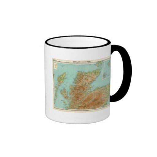Sección septentrional de Escocia Tazas De Café