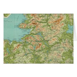 Sección septentrional de Irlanda Tarjeta De Felicitación