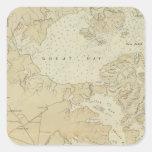 Sección Tuckerton de la costa al mapa de la carta Colcomanias Cuadradass