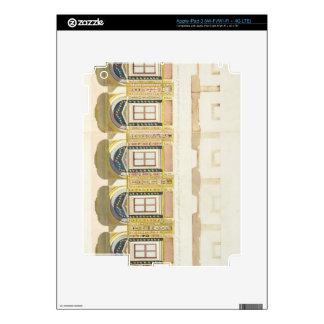 Sección vertical de la segunda planta del Raphae Pegatinas Skins Para iPad 3