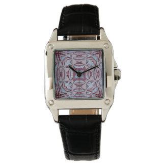 Secciones representativas reloj de mano