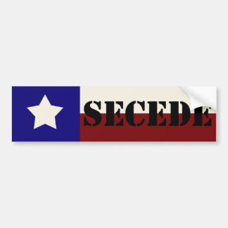 SECEDE Bumper Sticker