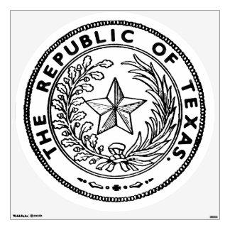 Secede la república de la escultura de Tejas Vinilo