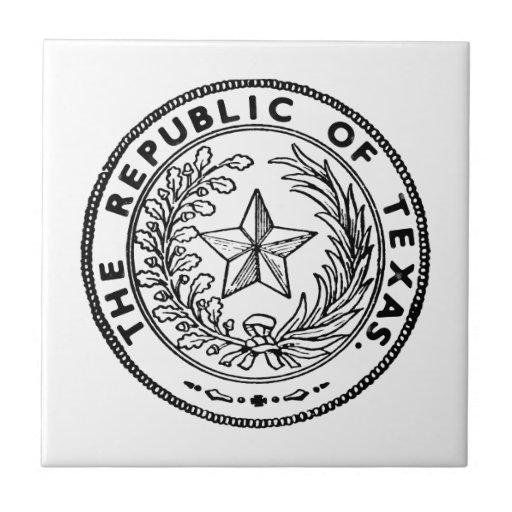 Secede la República de Tejas
