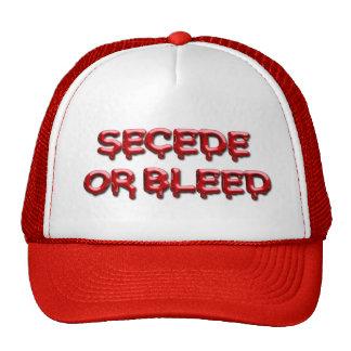 SECEDE OR BLEED TRUCKER HAT