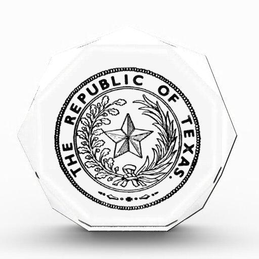 Secede Republic of Texas Acrylic Award