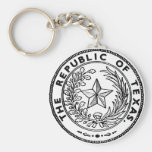 Secede Republic of Texas Basic Round Button Keychain