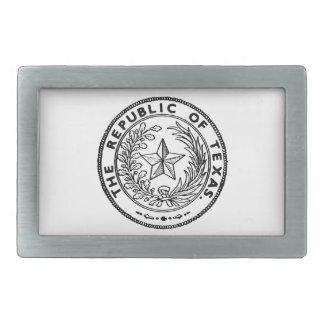 Secede Republic of Texas Belt Buckle