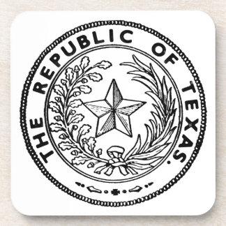 Secede Republic of Texas Coaster