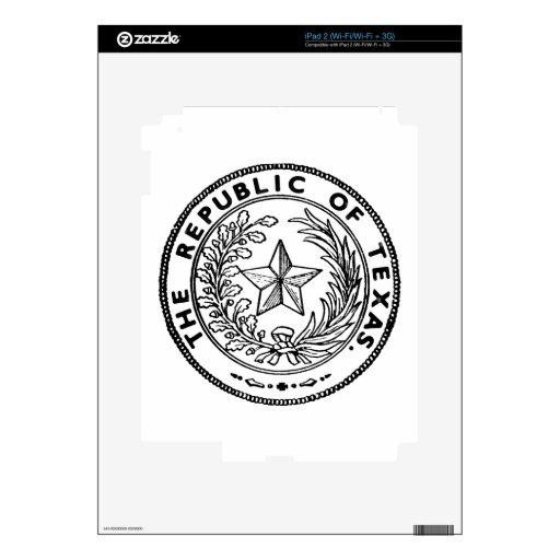 Secede Republic of Texas iPad 2 Skin
