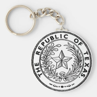 Secede Republic of Texas Keychain