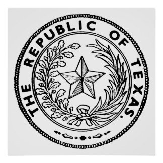 Secede Republic of Texas Poster