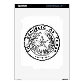 Secede Republic of Texas iPad 3 Decal