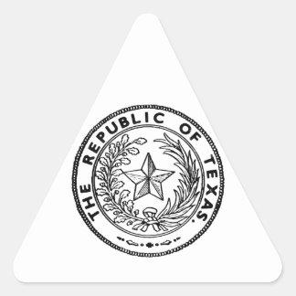 Secede Republic of Texas Triangle Sticker