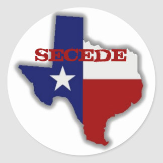 Secede Texas Sticker