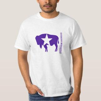 Secesión icónica del bisonte mercantil (estilos de playera