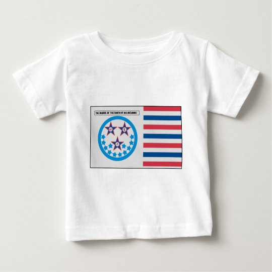 Secession Flag used by Florida - January 10, 1861 Baby T-Shirt