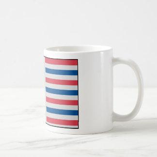 Secession Flag used by Florida - January 10, 1861 Classic White Coffee Mug