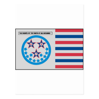 Secession Flag used by Florida - January 10, 1861 Post Card