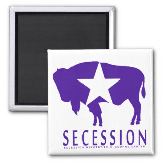 Secession Iconic Bison Fridge Magnets