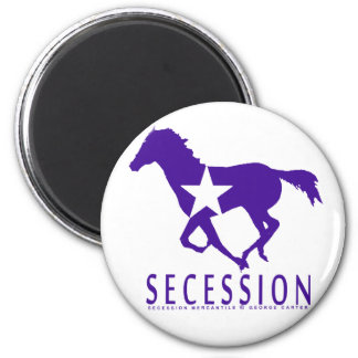 Secession Wild Mustang Refrigerator Magnets