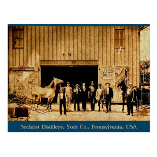 Sechrist Distillery, York Co., Pennsylvania, USA Postcard