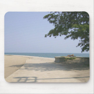 Secluded Beach Area Mouse Pad