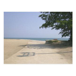 Secluded Beach Area Postcard