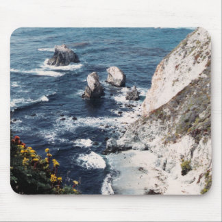 Secluded Beach Mouse Pad