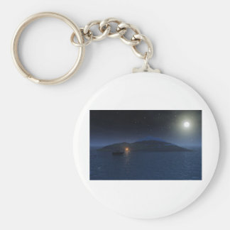 Secluded Camper Keychain