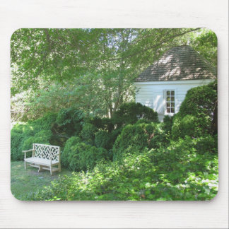 Secluded Garden Mouse Pad