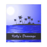 Secluded Island Tropics Radiance Scratch Pad