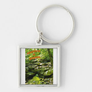 Secluded Stream Keychain