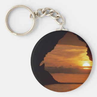 Secluded Sunset Keychain