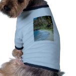 Secluded tropical bay pet clothes
