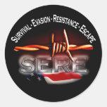 SECO - pegatina del entrenamiento militar de los E