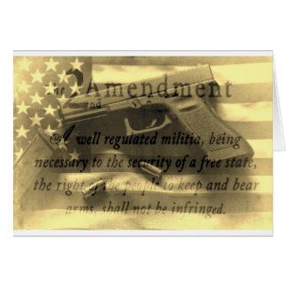 Second Amedment Card