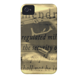 Second Amedment iPhone 4 Case-Mate Case