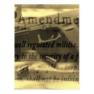 Second Amedment Postcard