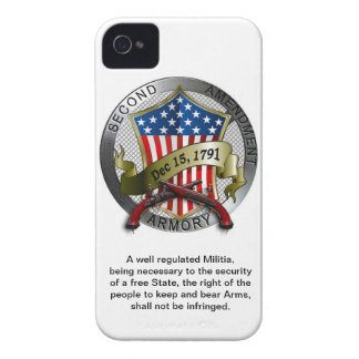 Second Amendment Armory iPhone Case iPhone 4 Cases