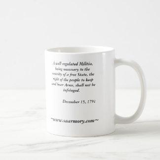 Second Amendment Armory Mug