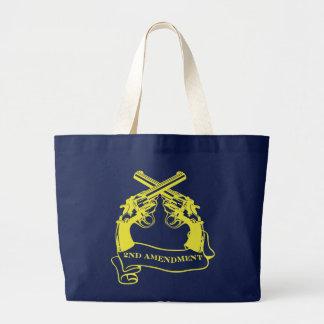 second amendment canvas bag