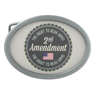Second Amendment Belt Buckle