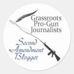 Second Amendment Blogger Sticker